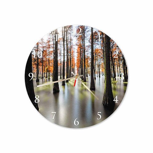 #38 Orange Forest Round