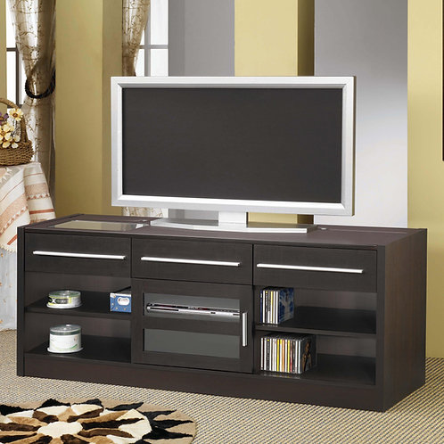 #012 TV Stands Contemporary TV Console with CONNECT-IT Power Drawer-RTA