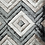 Thumbnail: #012 CHECKERED RUG IN CREAM AND GREY