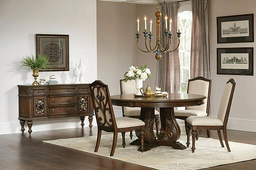 ILANA DINING SET COLLECTION (TABLE / 4 CHAIRS)