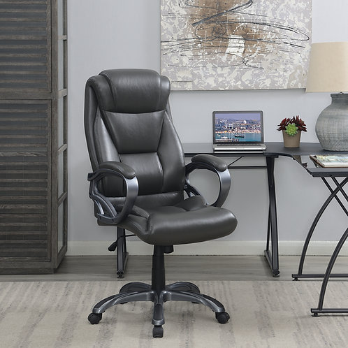 #003 Upholstered High Back Office Chair