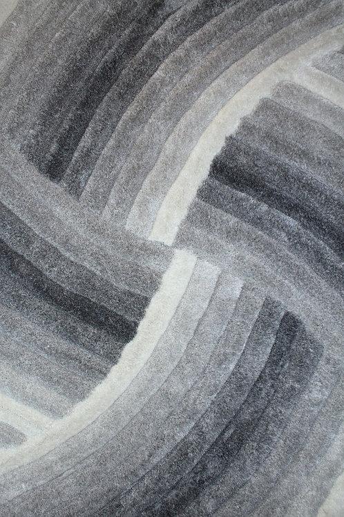 Hypnotic Area Rug Grey