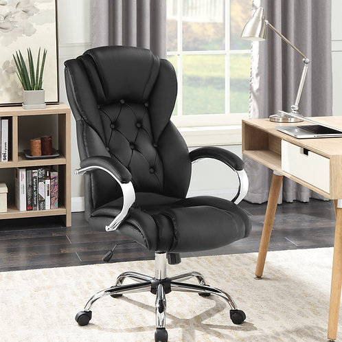 #001 Tufted High Back Office Chair