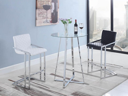 CONTEMPORARY ROUND TABLE -2 BAR STOOL