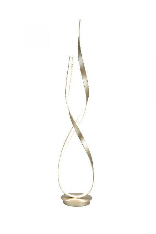 VINENA LED FLOOR LAMP GOLD