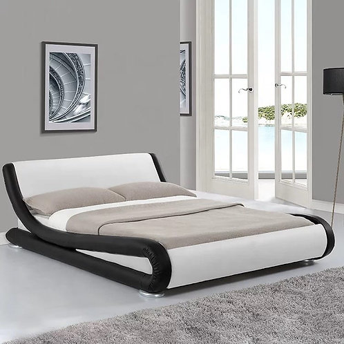 #076 SOFISTIC BLACK & WHITE BED