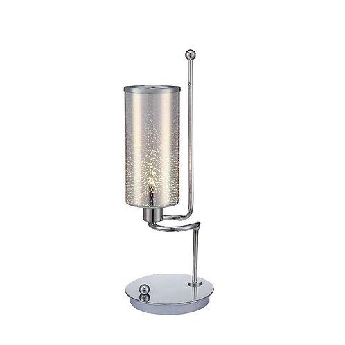 GWEEN TABLE LAMP CHROME
