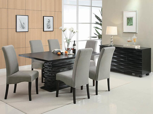 #020 STANTON DINING SET COLLECTION 7PCS
