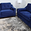 Thumbnail: #002 NAVY BLUE SOFA & LOVESEAT