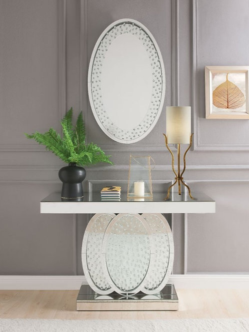 #006 NYSA CONSOLE TABLE & MIRRORED