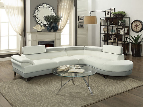 #023 SECTIONAL 2 PCS