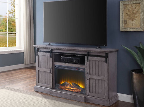#031 ADMON TV STAND & FIREPLACE