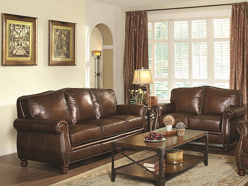 #009 MONTBROOK ROLLED SOFA & LOVESEAT