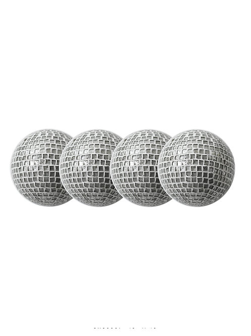 Silver White Decorative Orb