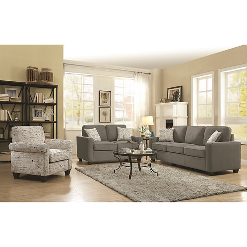 Bardem by Coaster Sofa & loveseat wth Casual Style