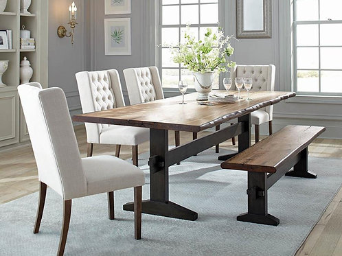 #026 BEXLEY LIVE DINING TABLE 6PCS
