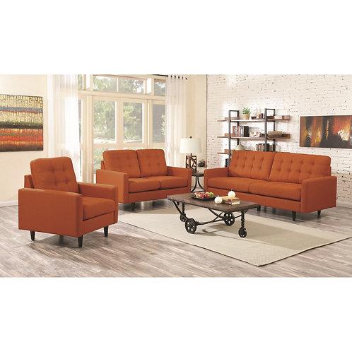 Kesson Mid-Century Modern Sofa &  Loveseat