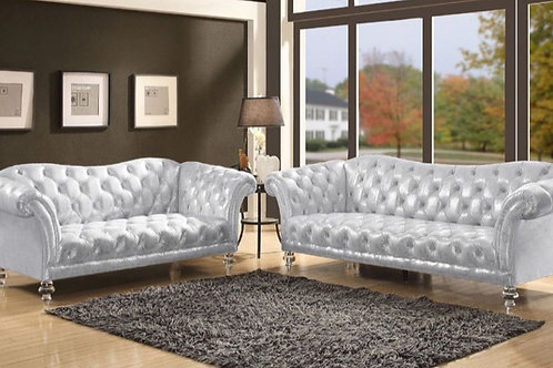 #031 DIXIE SOFA & LOVE SEAT SET