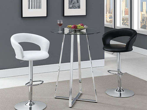 #008 CONTEMPORARY ROUND TABLE -2 BAR STOOL