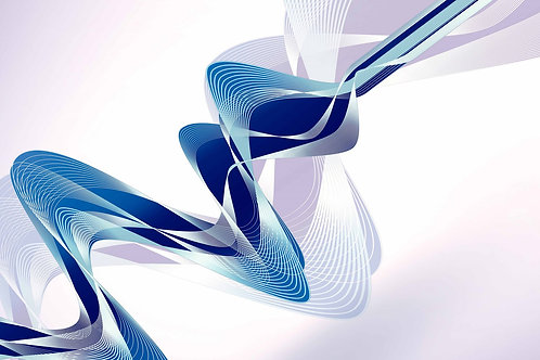 Swirls Glass Wall Art