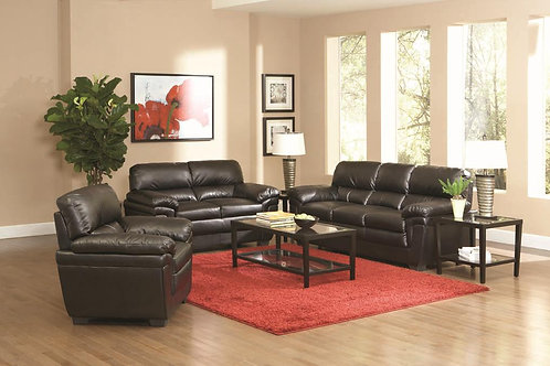 Fenmore Casual Split Back Leather-Like Sofa/Fenmore Casual Ultra Plush Faux Leat