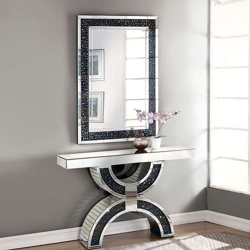 #009 NOOR CONSOLE TABLE & MIRRORED