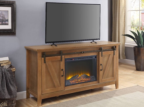 #032 AFONSO TV STAND WITH FIREPLACE