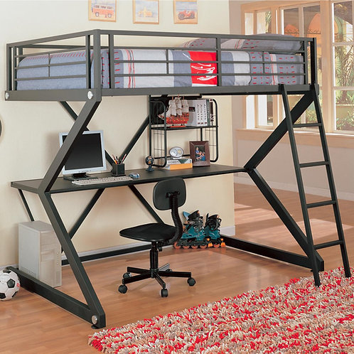 Bunks Workstation Full Loft Bed