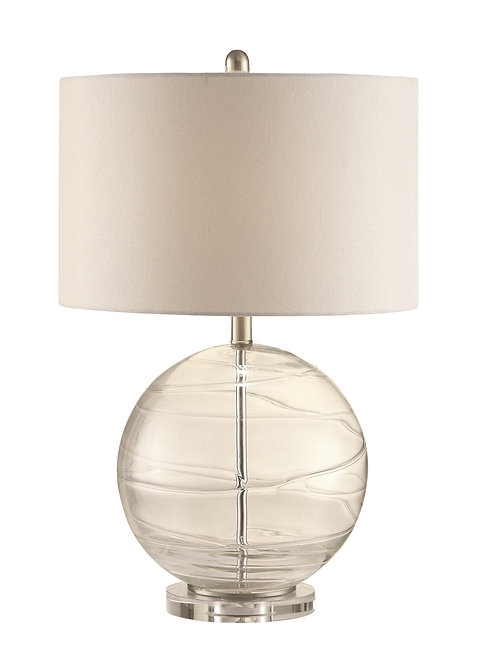 Table Lamps Clear Glass Globe Lamp