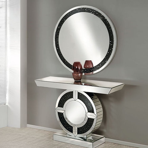 #010 NOOR CONSOLE TABLE & MIRRORED