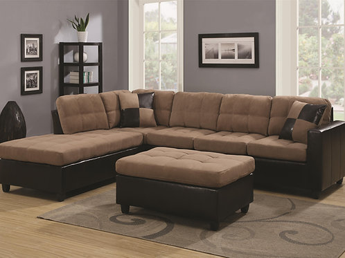 #003 Mallory Reversible Sectional