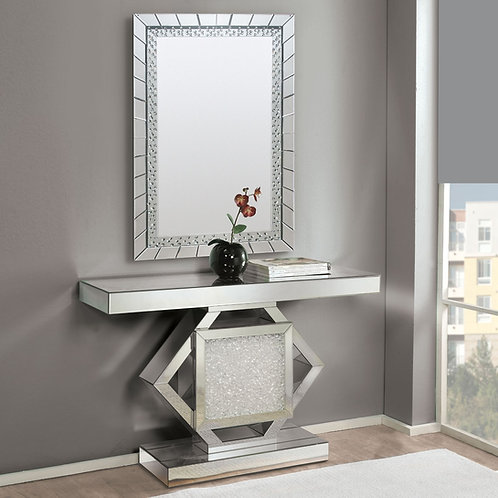 #013 NOWLES CONSOLE TABLE & MIRRORED
