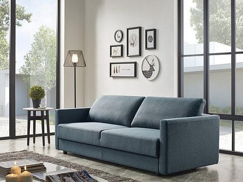 #005 FREDONIA MODERN BLUE-GREEN SOFA BED