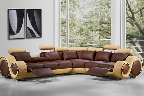 Divani Casa 4087 - Modern Bonded Leather