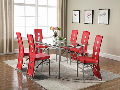 LOS FELIZ DINING SET COLLECTION W/6 CHAIRS