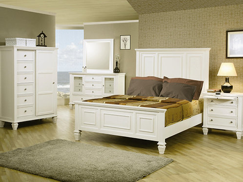 #015 SANDY BEDROOM SET
