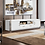 Thumbnail: #016 TV STAND IN WHITE LACQUER