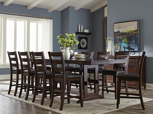 HOLBROOK COLLECTION - TABLE + 10 CHAIRS