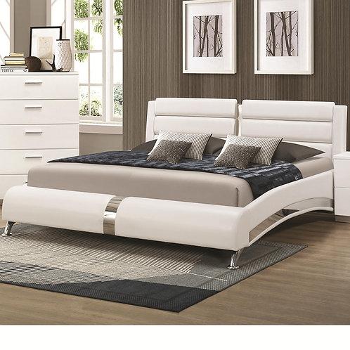 Felicity Queen Bed with Metallic Accents