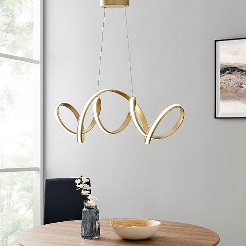 #034 SEVILLE LED CHANDELIER GOLD