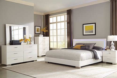 Felicity LED Bedroom Set