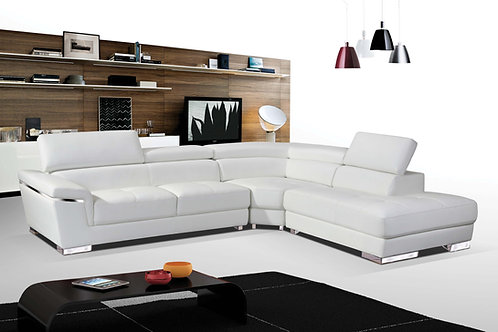 #045 SECTIONAL WHITE