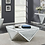 Thumbnail: #003 TRIANGLE COFFEE TABLE & END TABLE SET 2 PCS