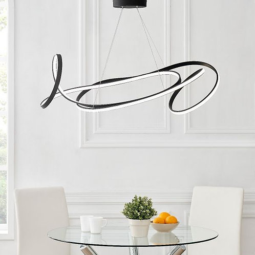 #033 MOSCOW LED CHANDELIER BLACK
