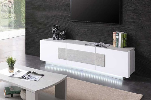 #018 LED LIGHT TV STAND