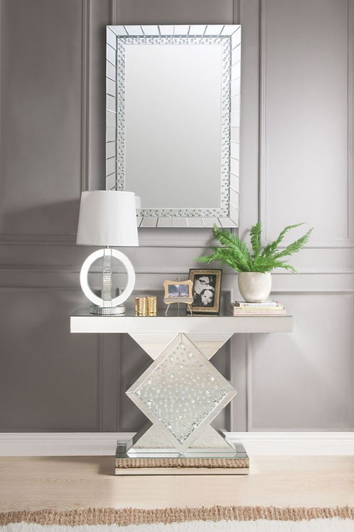 #008 NYSA CONSOLE TABLE & MIRRORED