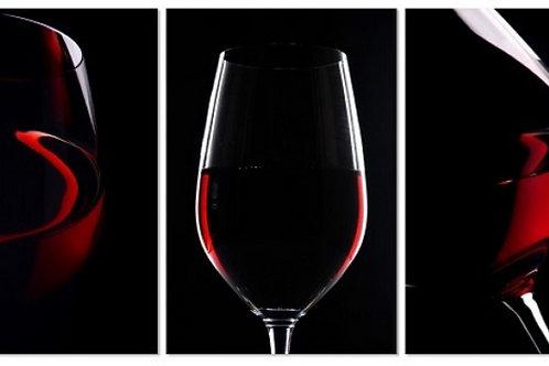 ABC RED WINE - ACRYLIC
