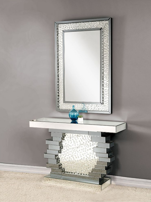 #012 NYSA CONSOLE TABLE & MIRRORED