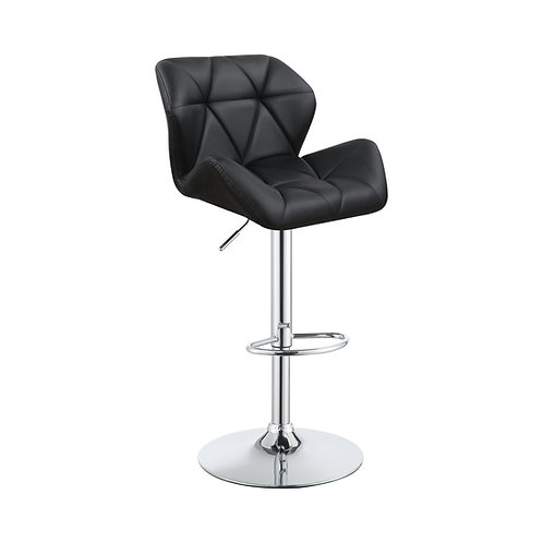 #017 Bar Stools Chrome And White