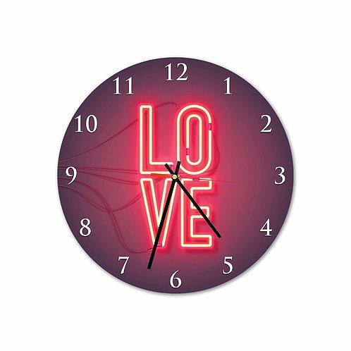 #V7 Love Neon Round